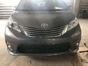 Полировка кузова Toyota