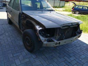 Разобранное авто после покраски