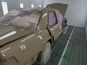 Полная покраска авто в камере