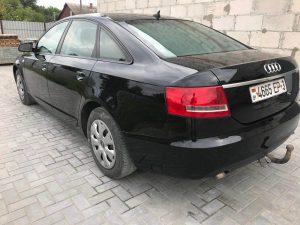 После покраски (Audi)
